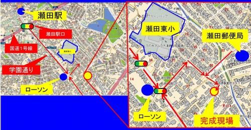 1805267K様邸現場見学会チラシ(地図)